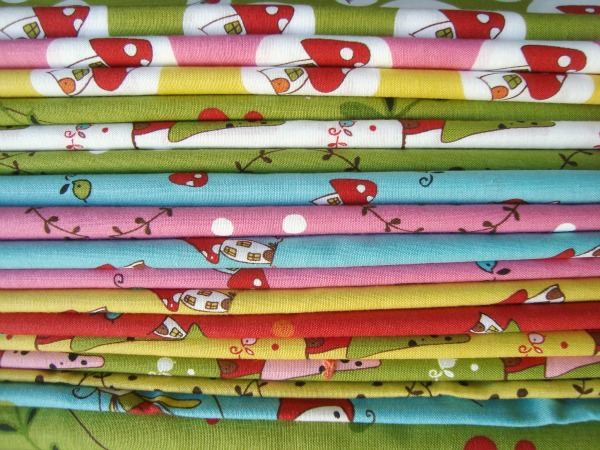 woodland fabric line