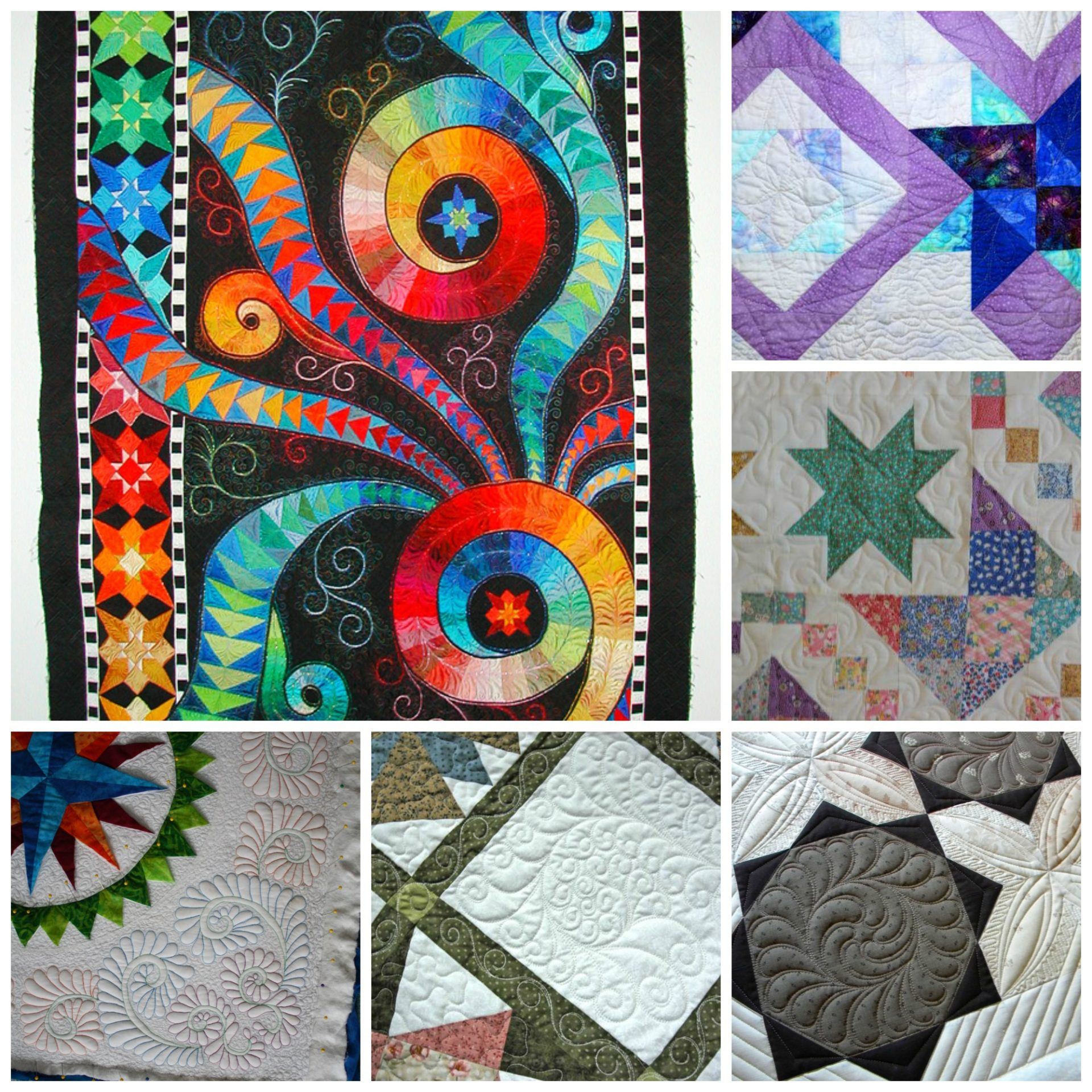 machine quilting patchwork posse