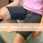 high water pants to shorts tutorial patchwork posse