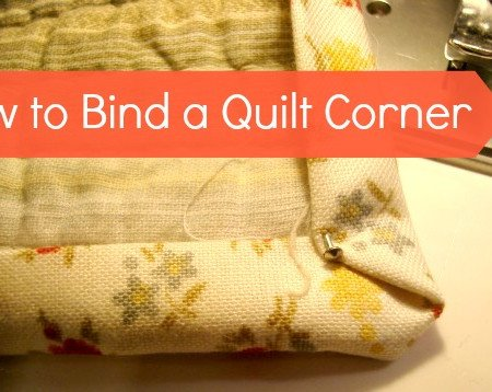 easy way to bind a quilt