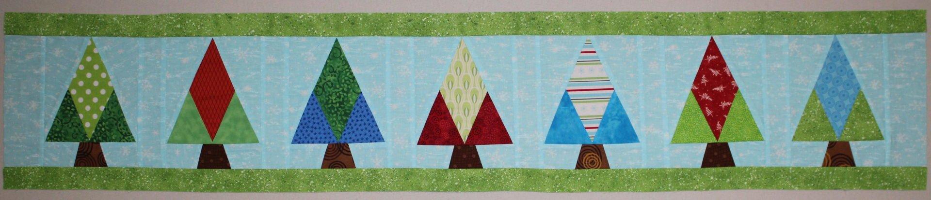 Round Robin Winter Wonderland with Dawn of Spring Water Design
