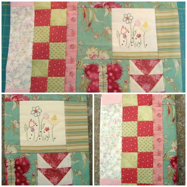 Quilted Book Cover Pattern : Book cover tutorial ufo quilt block pick up