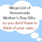 homemade mothers day gifts mega list / patchwork posse