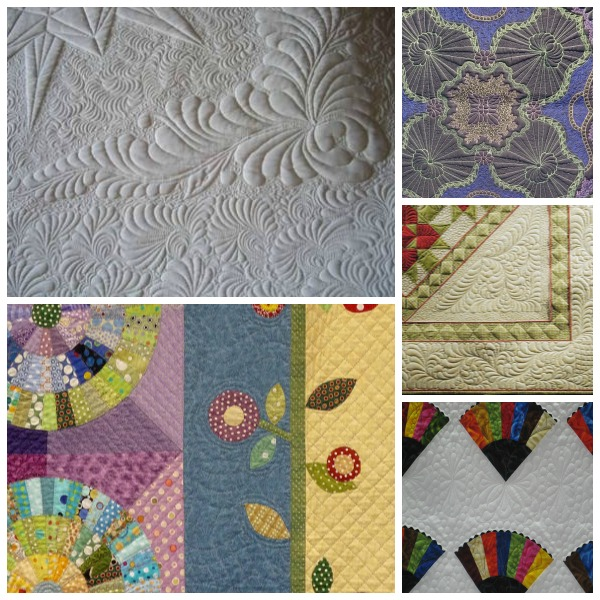machine quilting with HMQS