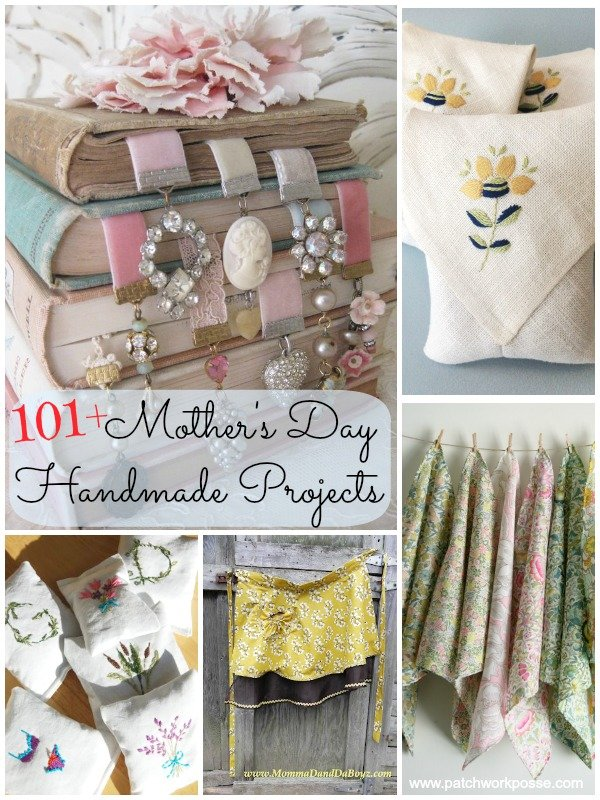 More than 100 homemade mothers day gifts ideas. You'll find more than enough inspiration and ideas for your Mother's Day present- for yourself or others! mother's day, handmade, diy
