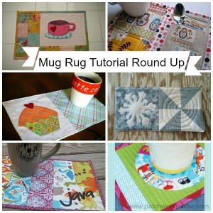mug rug tutorial round up // patchwork posse