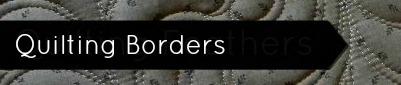 machine quilting borders