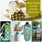Water bottle carrier tutorial round up // patchwork posse