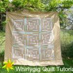 whirlygig quilt tutorial / patchwork posse