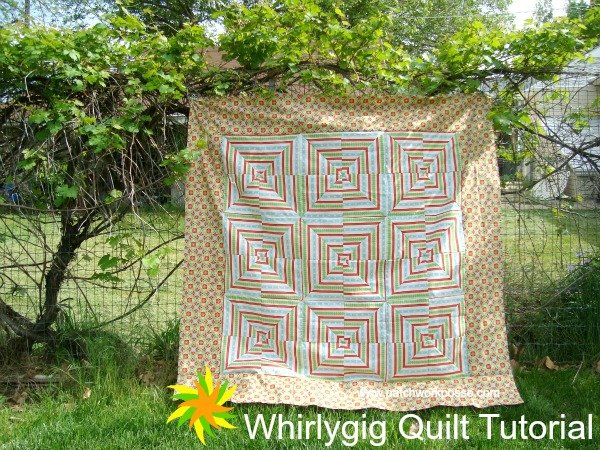 whirly gig quilt tutorial