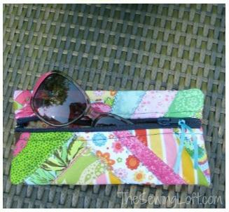 the sewing loft sunglass case tutorial