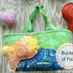 Bucket of Fish Tutorial Soft Toy for Toddlers Toss Game