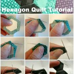 hexagon quilt tutorial / patchwork posse
