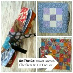 kids travel games tutorial / patchwork posse