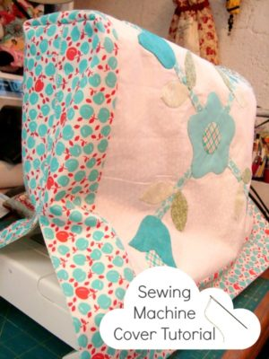 sewing machine cover pattern / patchwork posse