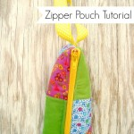 zipper pouch tutorial / patchwork posse
