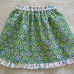 ruffle edge skirt
