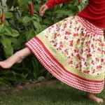 flirty skirt layered