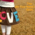 All you need is love skirt