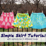 simple skirt tutorial