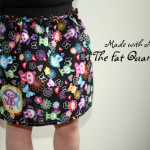 fat quarter skirt