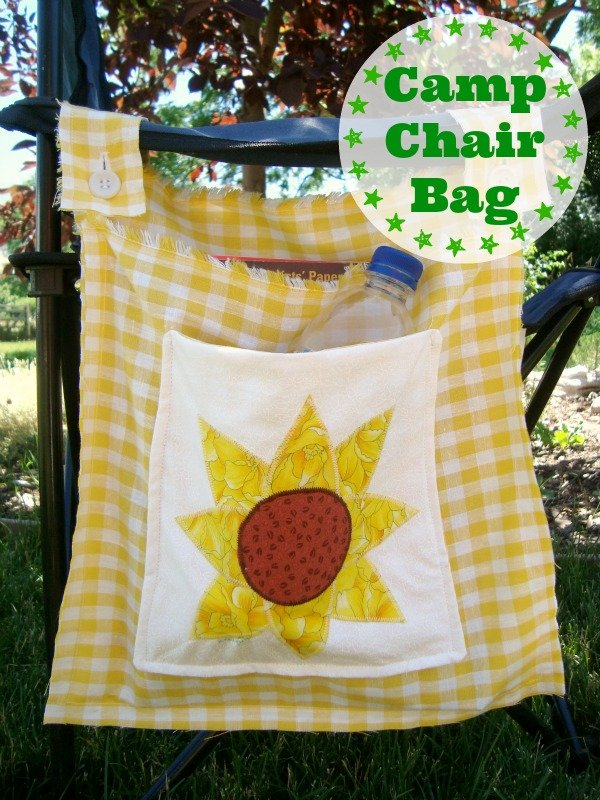 Sew a bag for your camp chair tutorial / Patchwork Posse #diy #tutorial