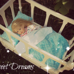 doll bed sweet dreams