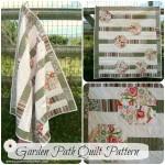 Garden Path Quilt Pattern- NEW!