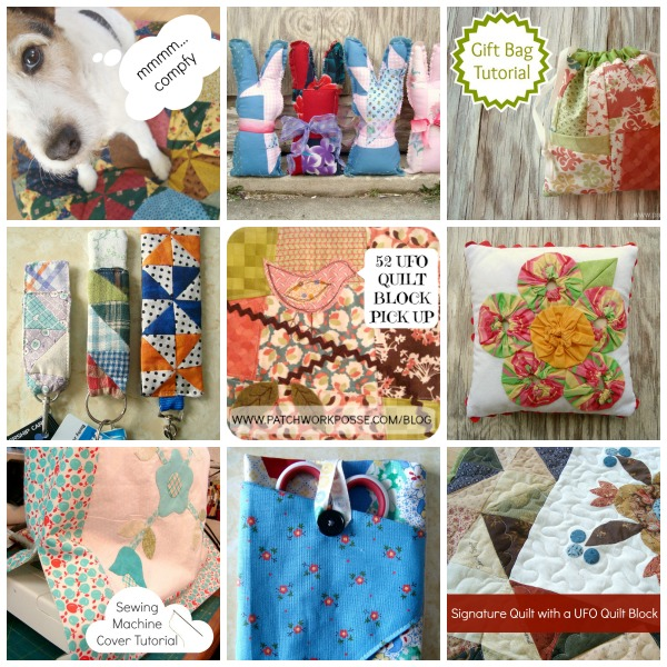50+ Easy Sewing Projects for Orphan Quilt Blocks -