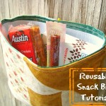 reusable snack bag tutorial / patchwork posse #tutorial #backtoschool #snackbag