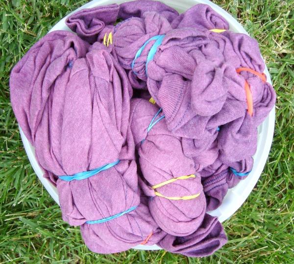 bleach tie-dye