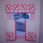 quilt block curtains