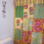 bathroom curtain susie's country garden