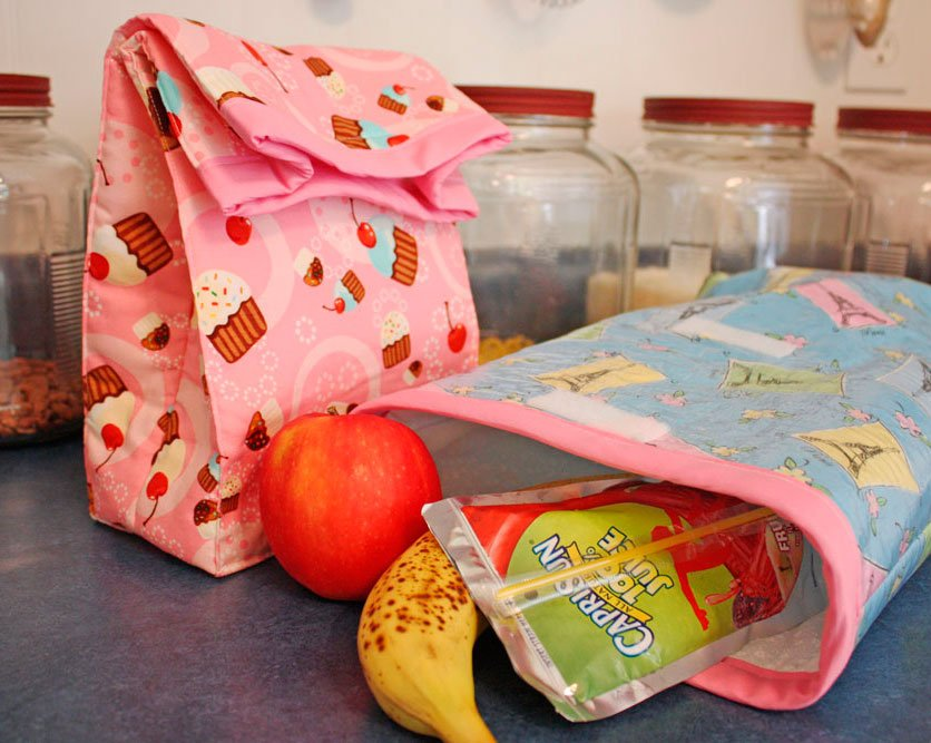 33 Cute Lunch Bags You can Sew