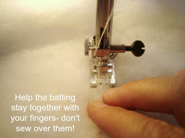 Peicing Quilt Batting from little bits : piecing quilt batting - Adamdwight.com