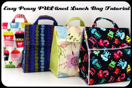 easy peasy lunch bag tutorial