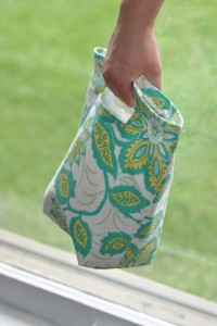 reusible lunch bag by craft buds