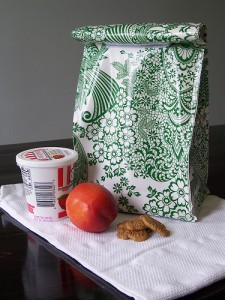 make your own lunch bag tutorial