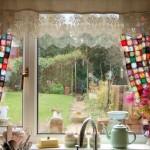 kitchen curtains posy