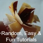 random fun and easy sewing projects and tutorials