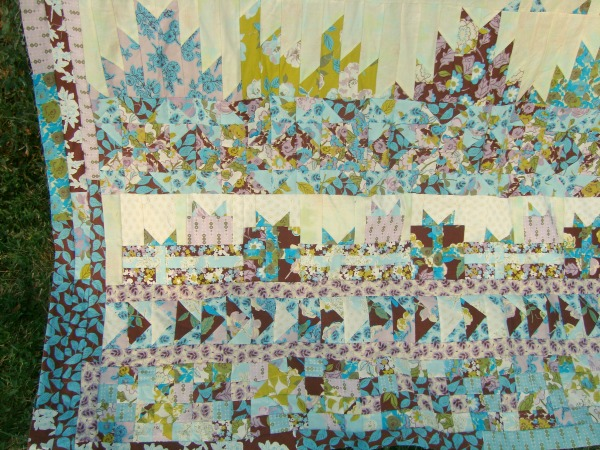 round robin quilt along finished top
