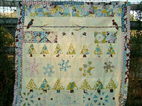 finished quilt round robin quilt along