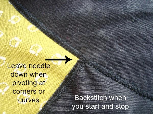 Sew a Satin stitch for applique