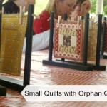 small quilts with orphan quilt blocks / patchworkposse.com #smallquilts