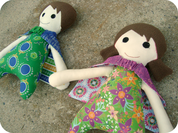 Super Hero Dolls and Shuffle Quilt Pattern