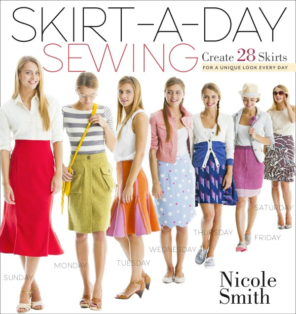 skirt-a-day-sewing book cover