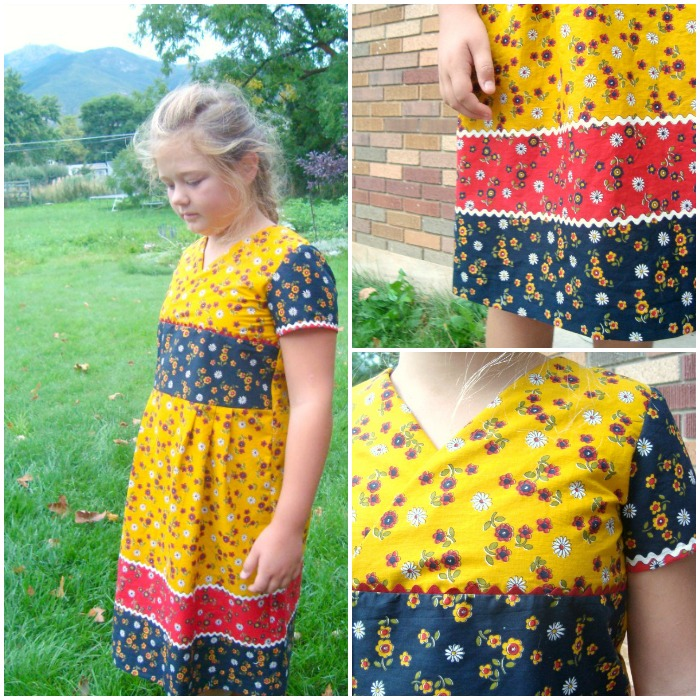 library dress review for Oliver & S / patchworkposse.com