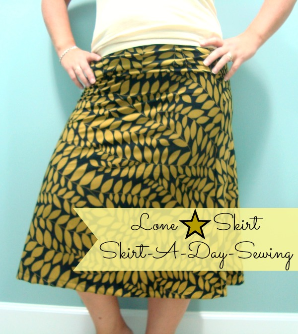 lone star skirt a skirt a day sewing book review / patchworkposse.com