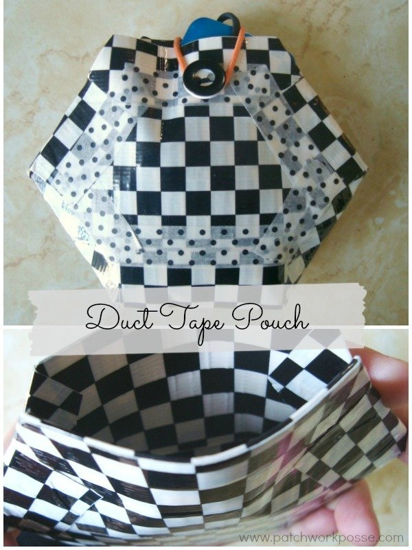 How to Make a Duct Tape Pouch -
