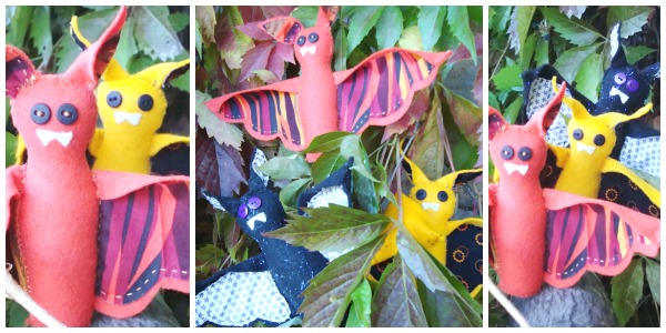bat pattern - quick stitch collection by patchworkposse.com